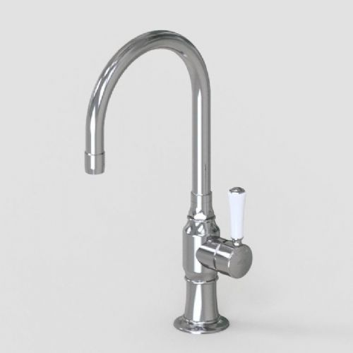 "Hornbeam Ivy Single Lever Mixer with 7"" Swivel Spout"